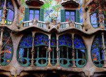 Шедевр Антонио Гауди. Дом Бальо - самое знаменитое здание мира в стиле модерн