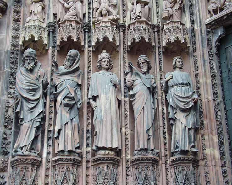 Скульптура Кёльнского собора