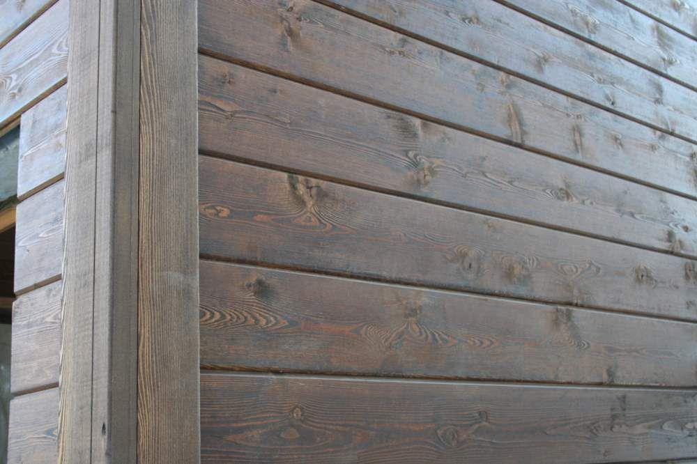 Стена после отделки