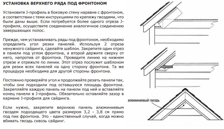Отделка фронтонов крыши своими руками 12