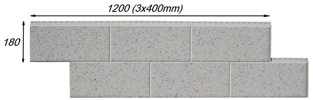 Vinylit фасадные облицовочные панели с натуральной каменной крошкой