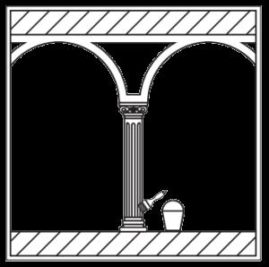 Установив на заранее выбранное место колонну, дождитесь, пока клей в местах стыковки элементов высохнет полностью. После этого можно окрасить декоративный элемент