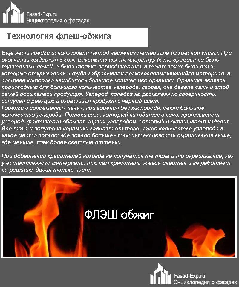 Технология флеш-обжига