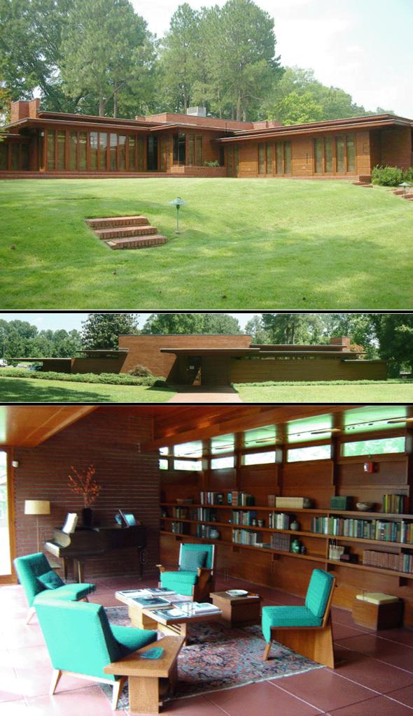 Дом Розенбаума (Rosenbaum), шт. Алабама, США