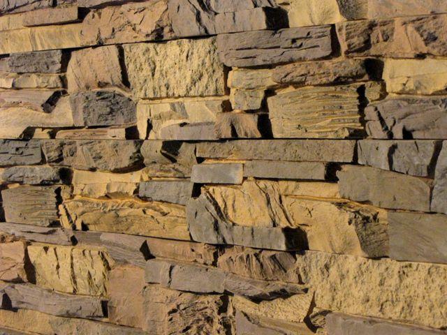 Искусственный камень, изготовленный своими руками