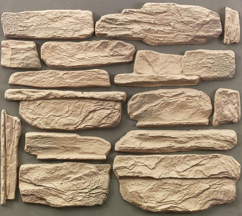 Камень из гипса своими руками