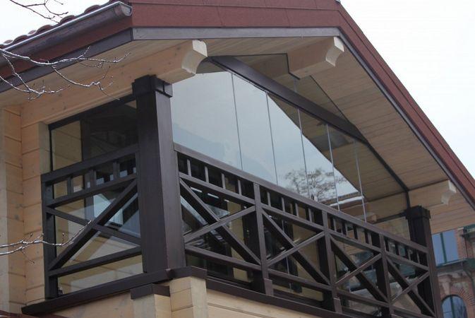 На подобных балконах низкая степень теплосбережения