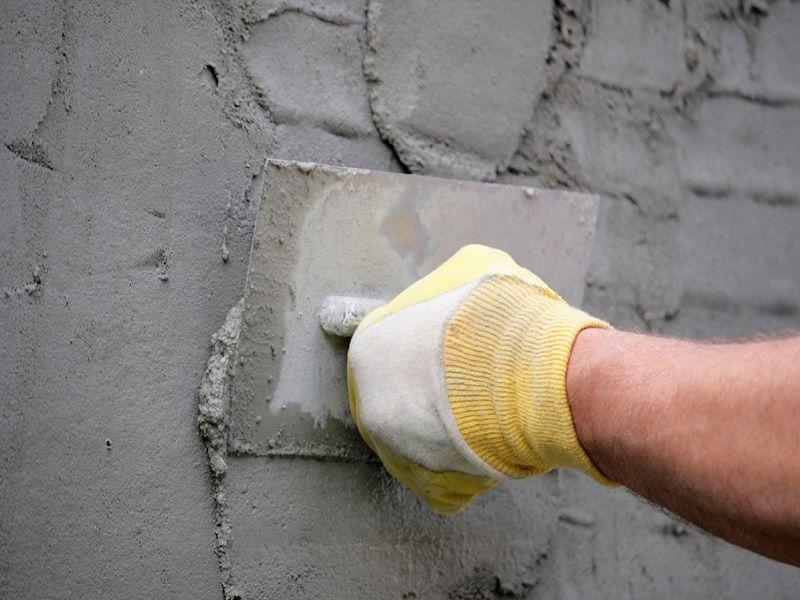 Подготовка стен фасада