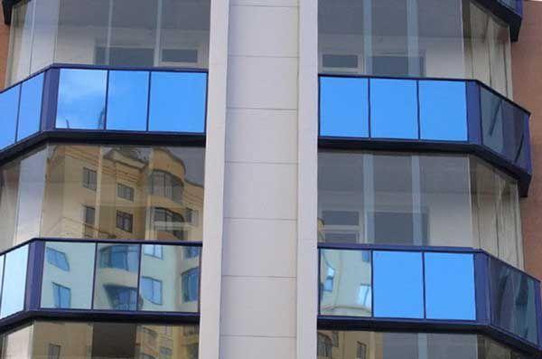 Передовой внешний вид балконов
