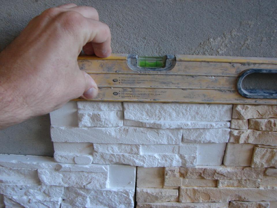 Монтаж декоративного камня своими руками 82