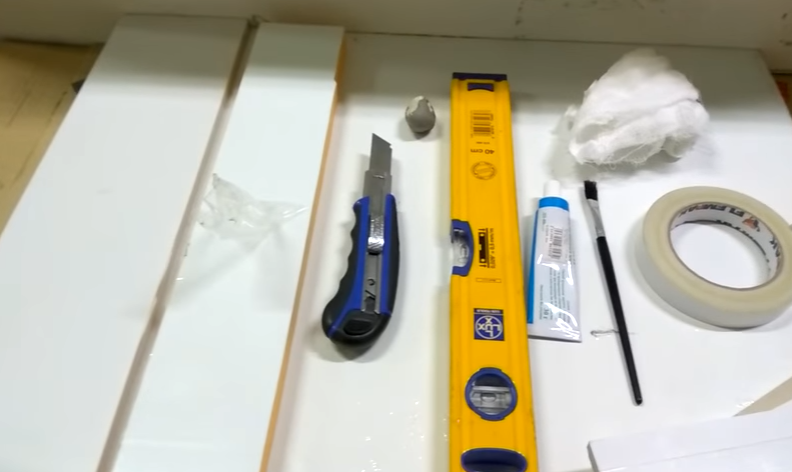 Заранее подготовьте инструмент
