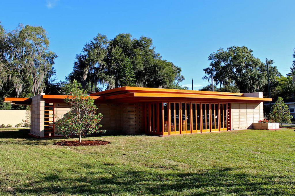 Дом Усониан (Usonian House) в США от Фрэнка Ллойда Райта