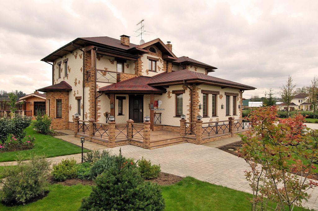 Дома в стиле шале отличаются неповторимым уютом и простотой