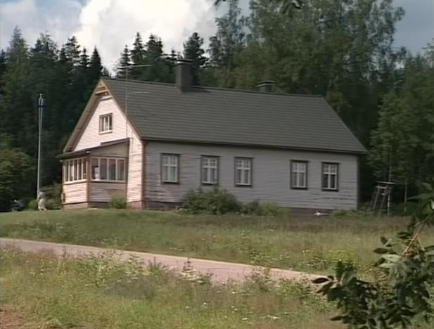 Фасад дома до ремонта