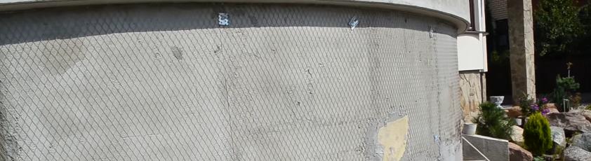 Закрепленная сетка