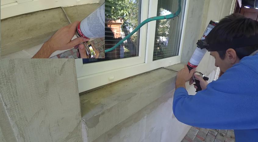 Как своими руками сделать отливы на окнах 89
