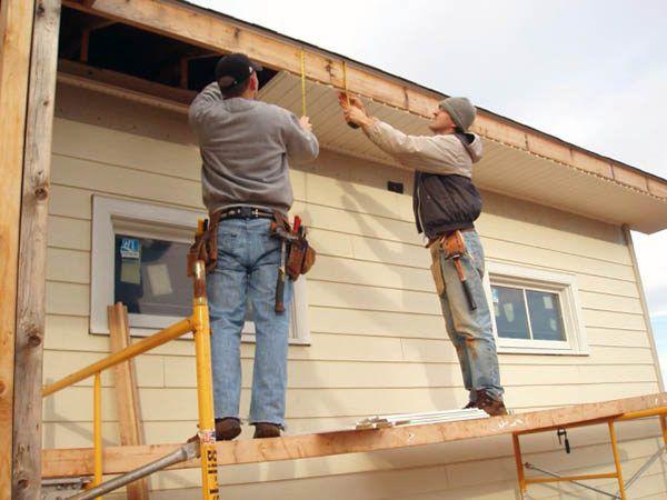 Обшивка фасада дома сайдингом