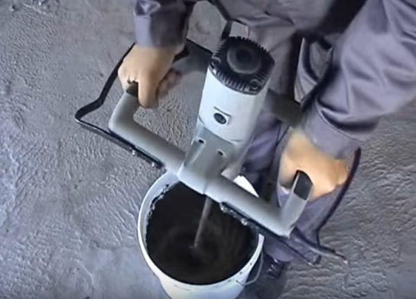 Приготовление клеящего раствора