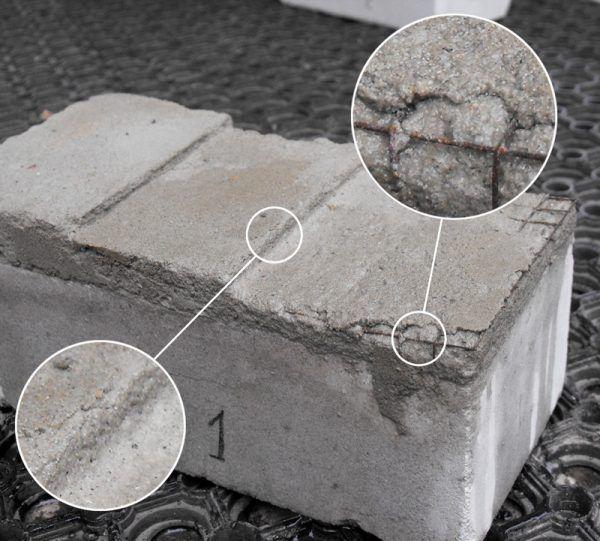 Пример использования металлической сетки без оцинковки
