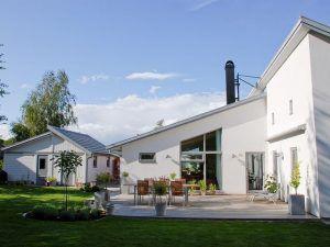 Проект Лара - финский коттедж в стиле модерн