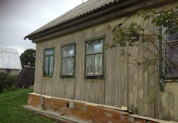 Так выглядел дом дом покраски