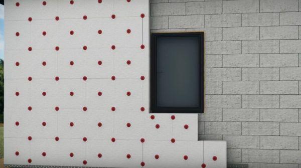 Утепление стен снаружи пенопластом – пошаговая инструкция