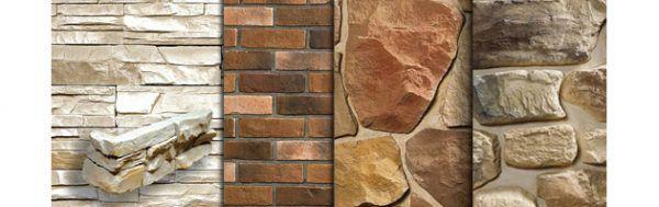 В настоящее время существуют совершенно разнообразные по внешнему виду, форме и цветовой гамме облицовочные материалы из искусственного камня