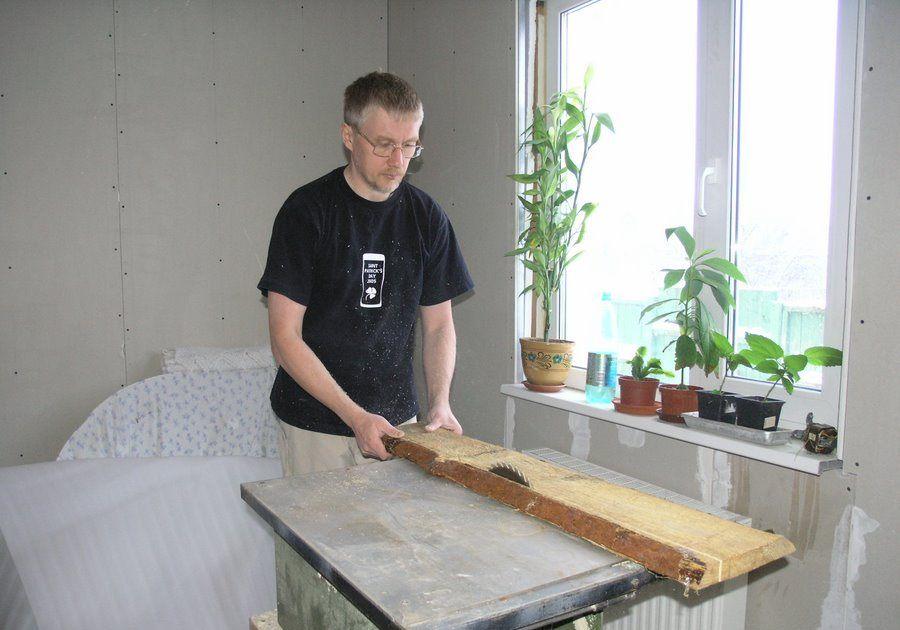 Как сделать обрезную доску своими руками
