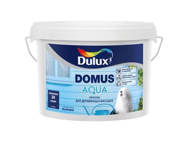 В этом примере используется фасадная краска Dulux Domus Aqua