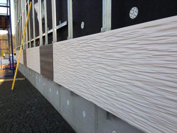 Японские фасадные панели - монтаж